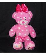 BUILD A BEAR DISNEY MINNIE MOUSE PINK POLKA DOT STUFFED ANIMAL PLUSH TOY... - $43.53