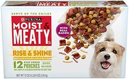 Purina Moist & Meaty Rise & Shine Awaken Bacon & Egg Flavor Adult Wet Do... - $16.61
