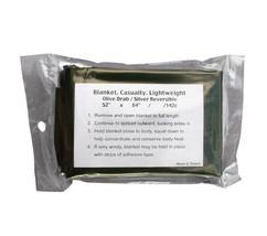 Rothco OD Lightweight Survival Blanket 9070 - $9.89