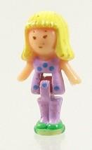 1989 Polly Pocket Vintage Dolls Pretty Nails - Daisy Bluebird Toys - $7.50