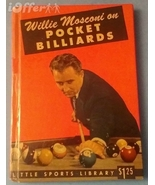 RARE WILLIE MOSCONI ON POCKET BILLIARDS SIGNED AND INSCRIBED 1ST EDITION - $799.95