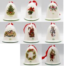 Pfaltzgraff Christmas Heritage Bell Ornament Choice 89 90 91 92 93 94 96 Santa - $12.99