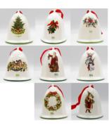 Pfaltzgraff Christmas Heritage Bell Ornament Choice 89 90 91 92 93 94 96... - $12.99