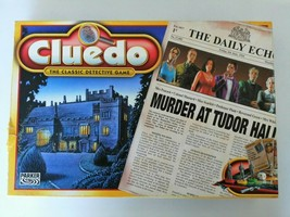 CLUEDO THE CLASSIC MYSTERY BOARD GAME WADDINGTONS 2003 COMPLETE - $14.25