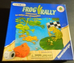 FROG RALLY Strategy Board Game Ravensburger 2003 Complete - $18.00