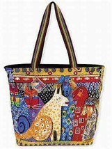 "NWT Laurel Burch LARGE Yellow A Brighter Place Dog Tote Dog Cat  20""x15""... - $45.85"