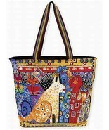 "NWT Laurel Burch LARGE Yellow A Brighter Place Dog Tote Dog Cat  20""x15""... - £35.60 GBP"