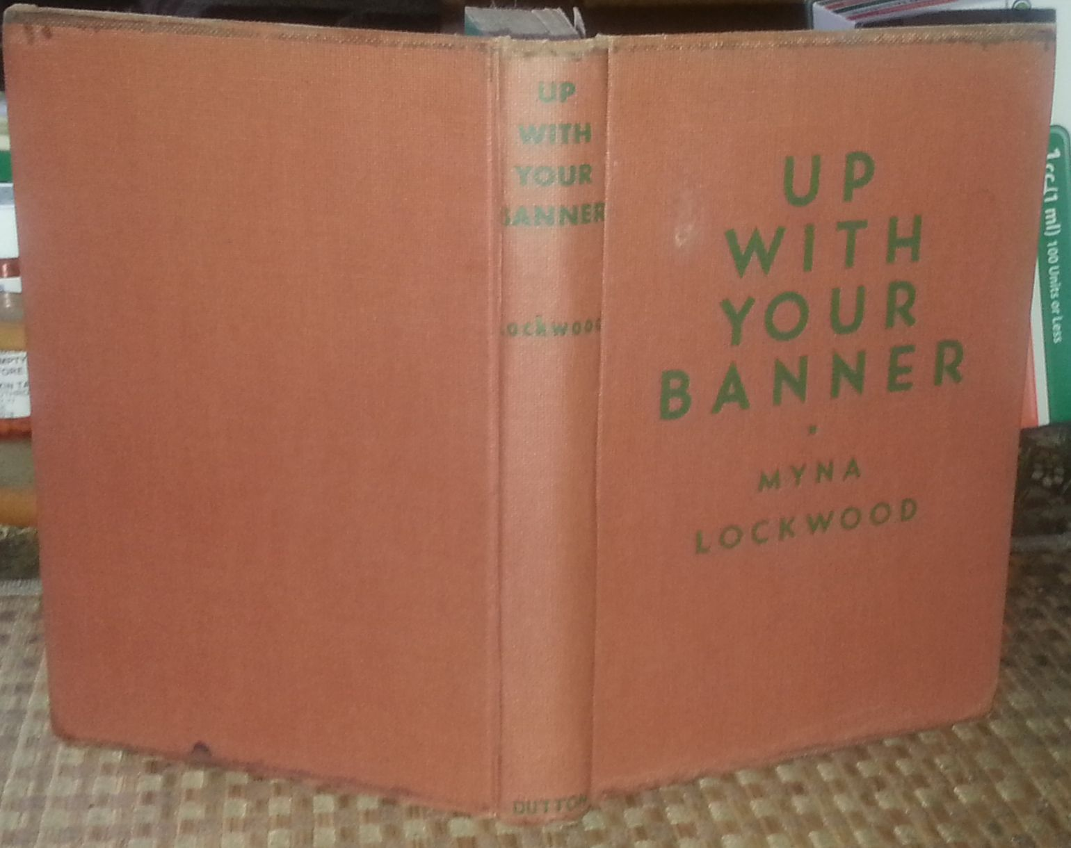 Up With Your Banner by Myna Lockwood 1946 HBDJ Texas Alamo