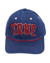 True Religion Men's Embroidered Chenille Logo Sports Hat Baseball Strapback Cap image 3