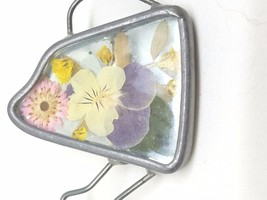 Papel Giftware Watering Can Pin Dried Flowers Vintage Brooch - $16.79