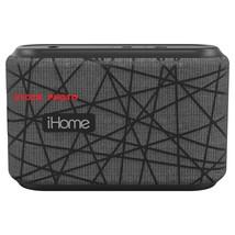 iHome iBT370GB Water Resistant Wireless Speaker-Grey/Black - $23.90 CAD