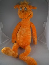 Dr. Seuss Foot Book Guy Orange character from The Foot Book story no tag... - $7.91