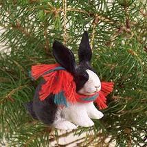 Conversation Concepts Rabbit Black & White Original Ornament - $11.95