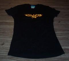 Women's Teen Dc Comics Wonder Woman T-shirt Justice League Medium New - $19.80