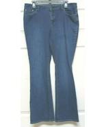 Liz Claiborne Women's Medium Blue Denim High Rise Waist Jeans Sz 10 Stretch - $19.99