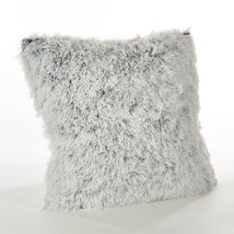 Fennco Styles Juneau Collection Two-Tone Faux Fur Down Filled Throw Pill... - $39.59