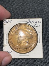 1980 Cody Country Chamber of Commerce 80th Anniversary - Buffalo Bill Medal - $2.99