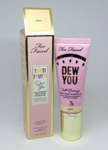 Too Faced Tutti Frutti Dew You Full Coverage Fresh Glow Foundation Swan 1.35oz - $21.68