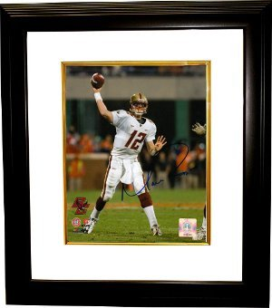 Primary image for Matt Ryan signed Boston College Eagles 8x10 Photo Custom Framed