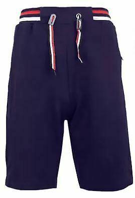 Blu Rock New York Men's Jogger/Athleticshorts with zipper pockets Sz 2XL NAVY