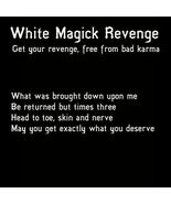 27x FULL COVEN WHITE MAGICK REVENGE WITHOUT CONSEQUENCES MAGICK Witch Ca... - $97.77