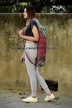 Strap Cross Body Shoulde Zip Case Yoga Bag Mat Carrying Indian Cotton Ma... - $281,66 MXN