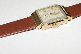 Baylor Swiss made vintage mechanical watch 17 jewels 10k gold filled image 4