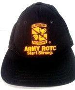 ARMY ROTC START STRONG LEADERSHIP EXCELLENCE MADE IN USA HAT CAP - $18.98