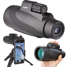 Gosky 12X50 High Power Prism Monocular Smartphone Holder and Handheld Tr... - $84.34