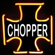 """Iron Chopper Neon Sculpture Bar Store Sign Wall Decor  8"""" x 14"""" - $89.99"""
