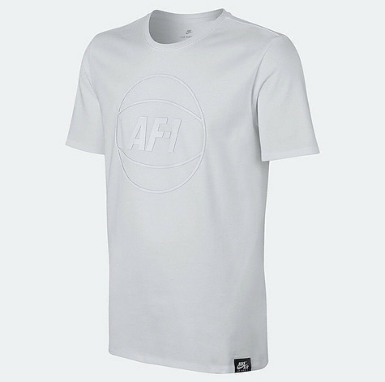 c89b811f58b8 Nike Sportswear AF1 T Shirt White 873189-100 and 50 similar items
