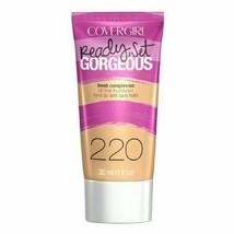 CoverGirl Ready Set Gorgeous Liquid Makeup Foundation Soft Honey 220 (2 ... - $11.85