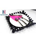 Al-Nurayn Stainless Steel Brass Flatware Cutlery Set Of 6 By NauticalMart - $139.00