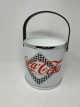 Coca Cola Ice Bucket Retro Vintage Cooler missing lid - $14.84