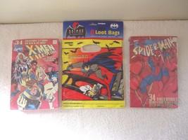 """Vintage Bundled Lot Of 3 Items """" NOS """" 1995 Marvel Valentines Cards,Batm... - $28.04"""
