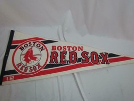 "Boston Red Sox Felt Pennant Official Licensed Wincraft 12"" x 29.5"" - $23.74"