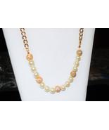 Large Swarovski Glass Pearl & Crystal Necklace - $65.00
