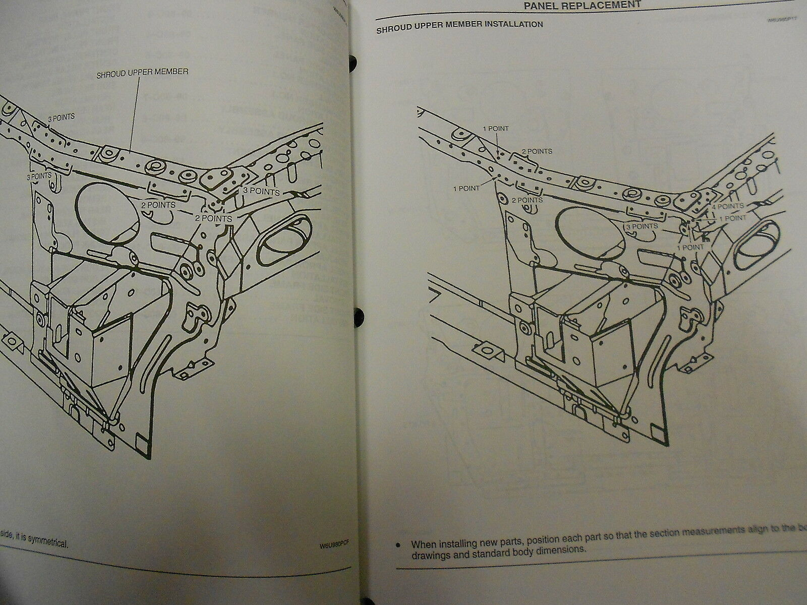 1998 Mazda 626 Bodyshop Service Reparatur Shop Manuell OEM Fabrik Buch 98