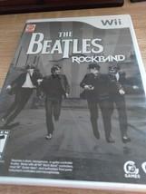 Nintendo Wii The Beatles Rockband image 1