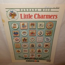 Little Charmers Counted Cross Stitch Pattern Leaflet Book 192  1991 Dime... - $9.99