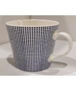 Royal Doulton 'Pacific' Blue Spots Coffee Tea Mug - $9.03