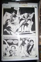 Jemm Son Of Saturn #4 Original Comic Art By Gene Colan Signed 1985 Dc - $369.11