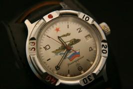 Serviced USSR Vostok Komanderskie 17 jewel Soviet all military forces wristwatch - $108.90