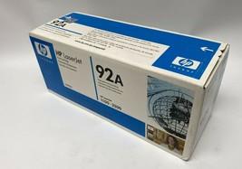 HP LaserJet 92A C4092A Black Toner Cartridge  - $34.65