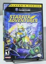 Starfox Adventures Nintendo Gamecube Complete CIB - $33.85