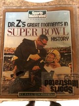 "1989 Sports Illustrated - ""DR. Z's GREAT MOMENTS IN SUPER BOWL HISTORY"" ... - $24.75"