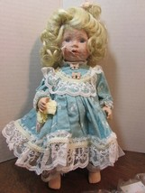 "Marie Osmond  doll SAVANNAH COA  9"" tall   Item C7593 MIRACLE CHILDREN - $27.72"