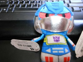 """Hallmark Itty Bitty's """"Sound Wave - Transformers"""" 2016 NEW Plush with Tags  - $10.40"""