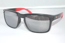 Oakley Holbrook POLARIZED Sunglasses OO9102-D3 Ruby Fade Frame W/ Prizm Black - $79.19