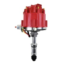 HEI Distributor 65K Coil For 1977-1987 Buick Even Fire 231 3.8L V6 Red Cap